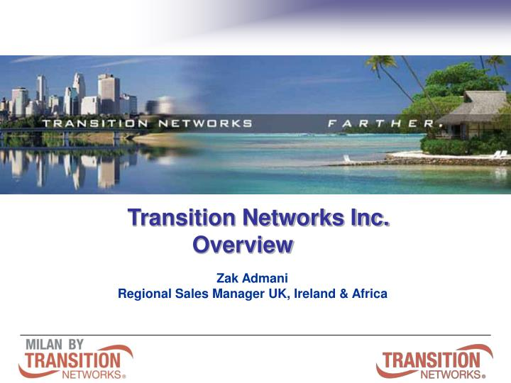 Transition Networks Inc.