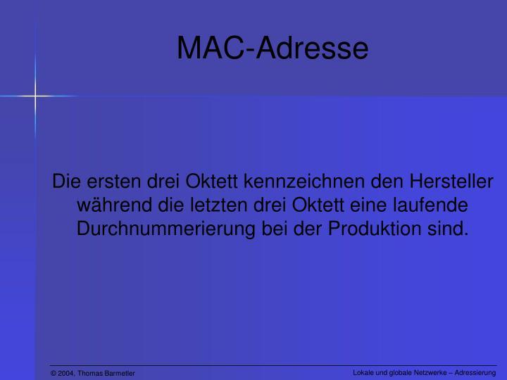 MAC-Adresse