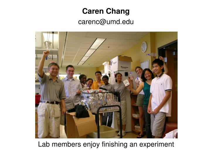 Caren Chang