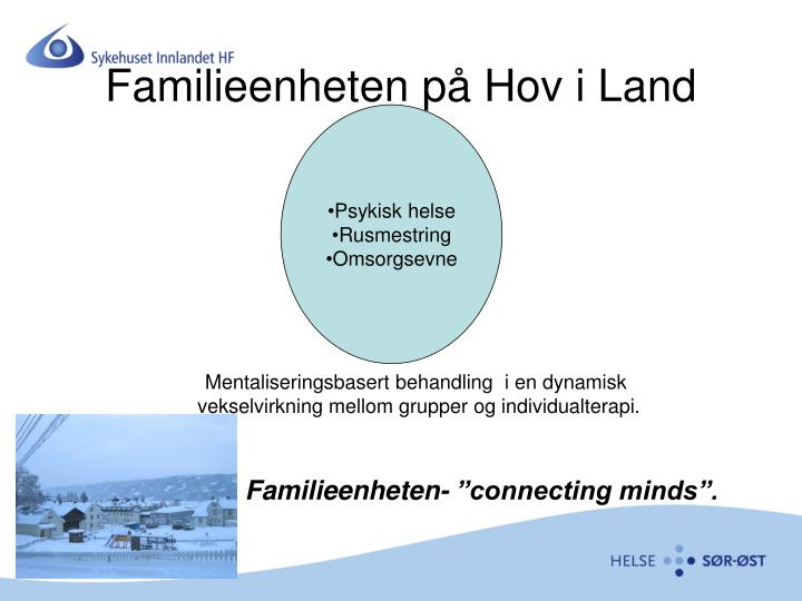 Familieenheten på Hov i Land