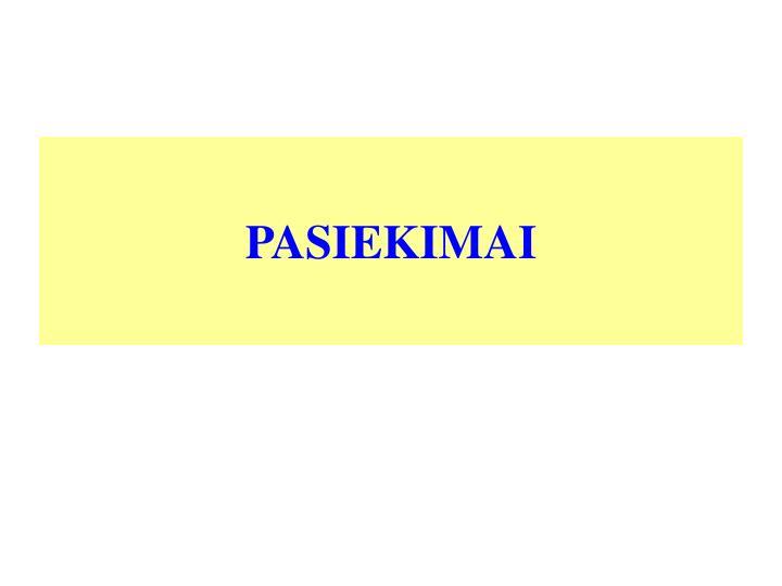 PASIEKIMAI