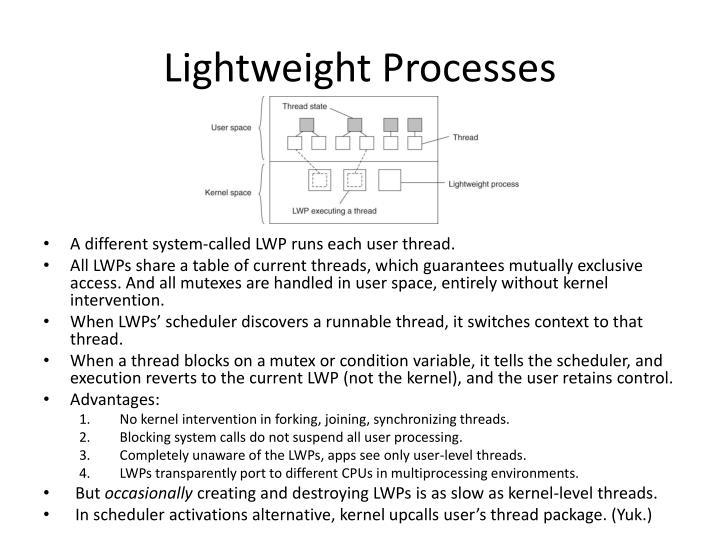 Lightweight Processes