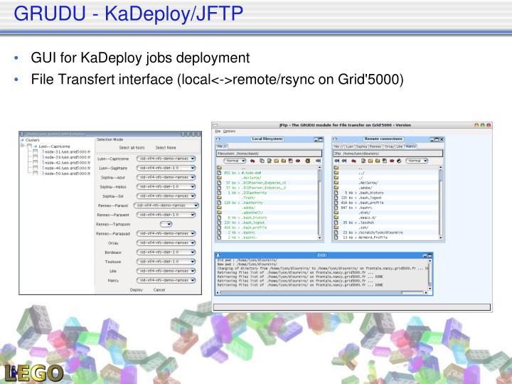 GRUDU - KaDeploy/JFTP
