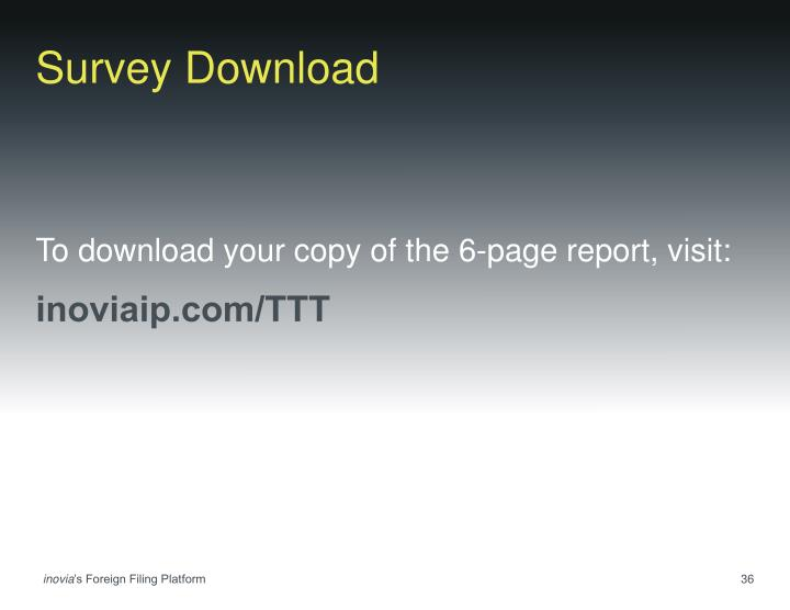 Survey Download