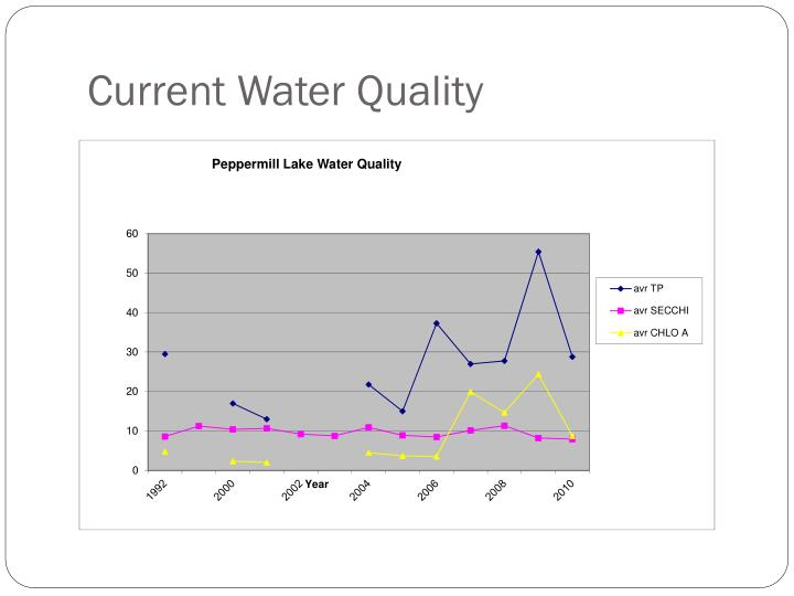Current Water Quality