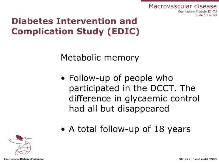 Diabetes Intervention and