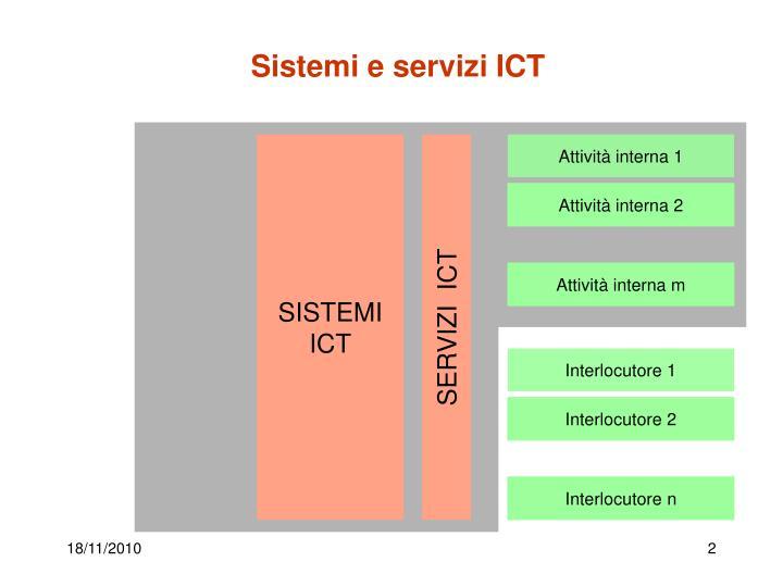 Sistemi e servizi ICT