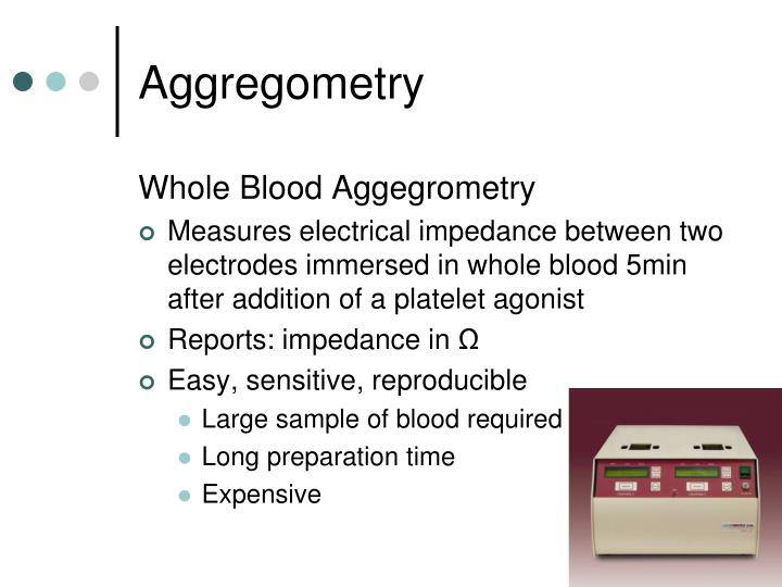 Aggregometry