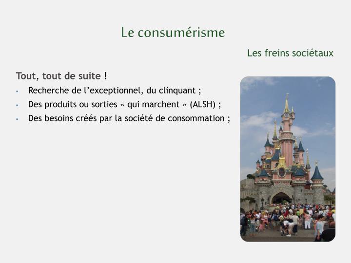 Le consumérisme