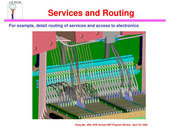 Services and Routing