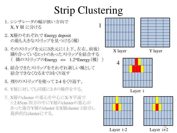 Strip Clustering