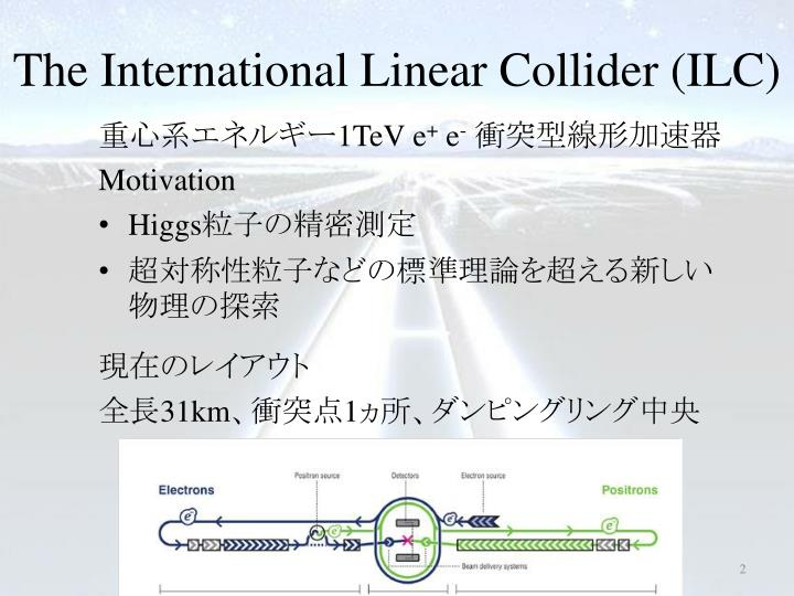 The international linear collider ilc