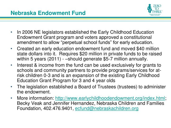 Nebraska Endowment Fund