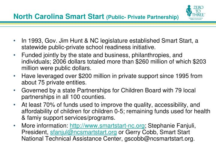 North Carolina Smart Start