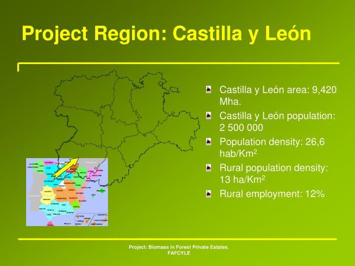 Project Region: Castilla y León