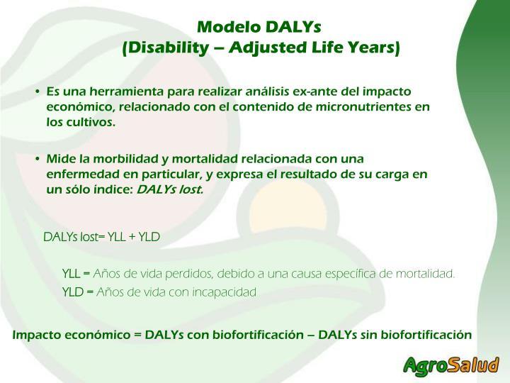 Modelo DALYs