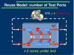 reuse model number of test ports1