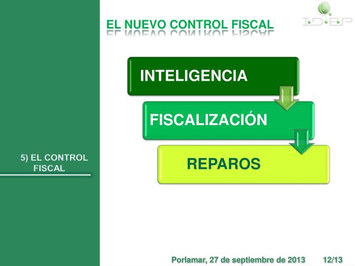 EL NUEVO CONTROL FISCAL