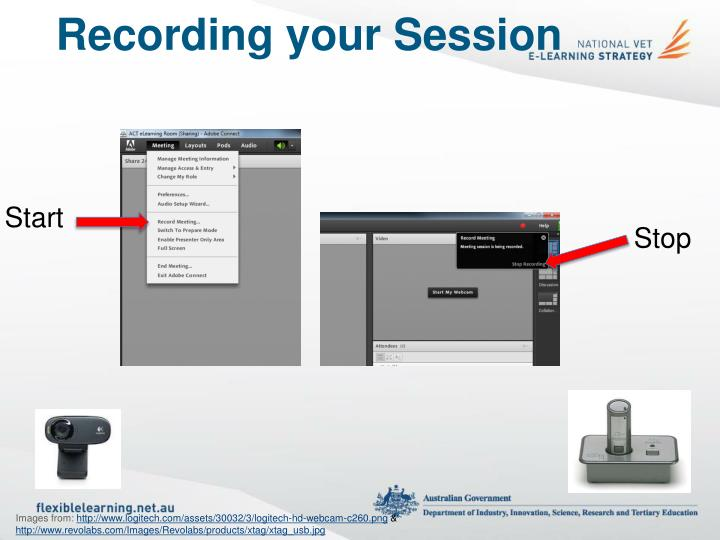 Recording your Session