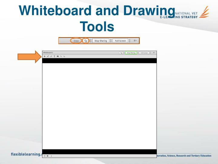 Whiteboard and Drawing Tools