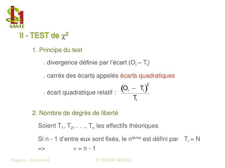 II - TEST de x2 (1)
