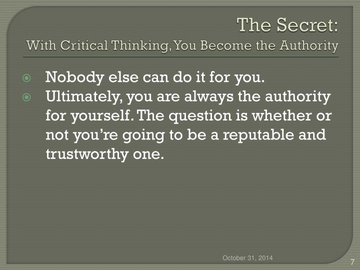 The Secret: