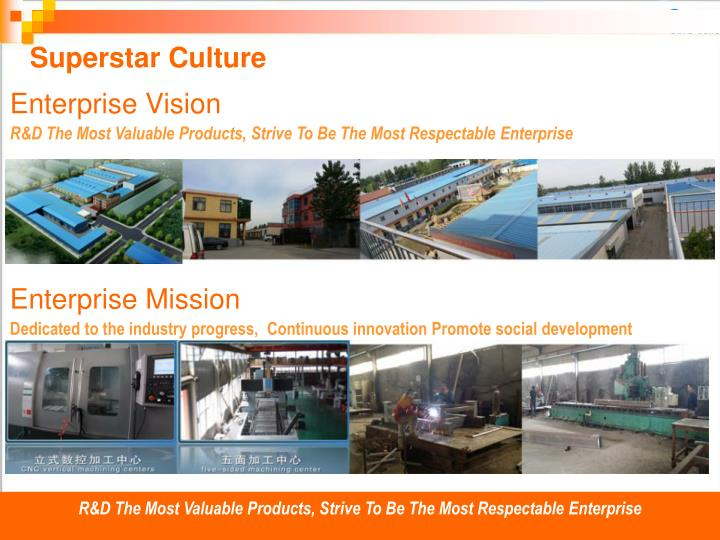 R&D The Most Valuable Products, Strive To Be The Most Respectable Enterprise