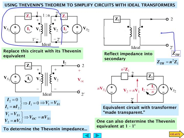 Replace this circuit with its Thevenin