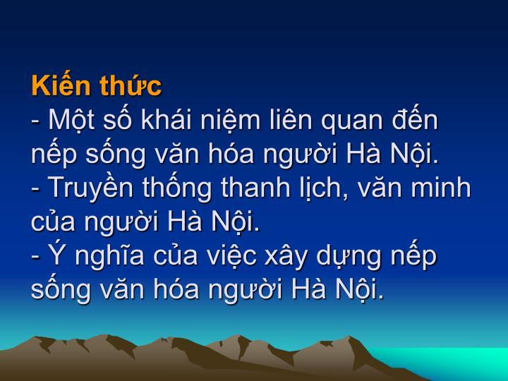 Kin thc