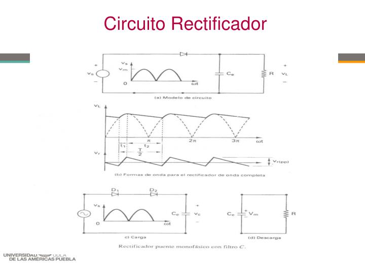 Circuito Rectificador : Ppt ingenierÍa mecatrÓnica en la automatizaciÓn de
