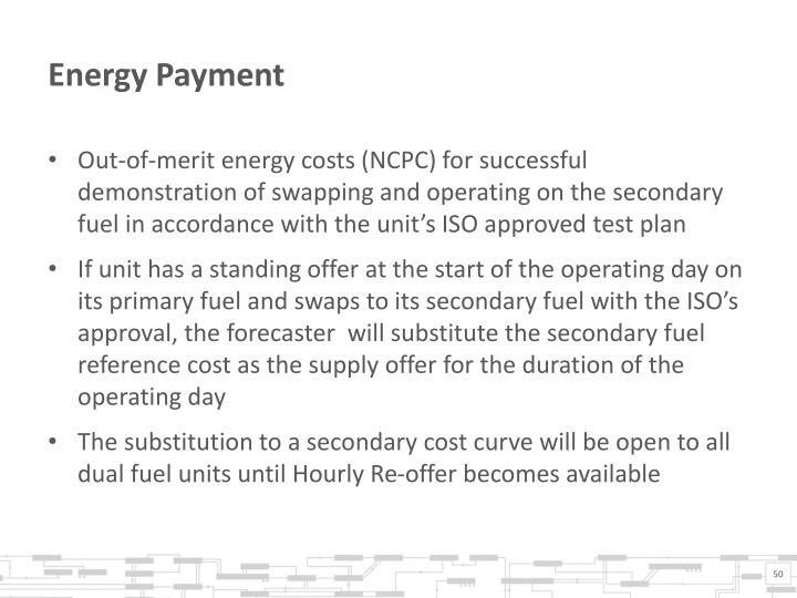 Energy Payment