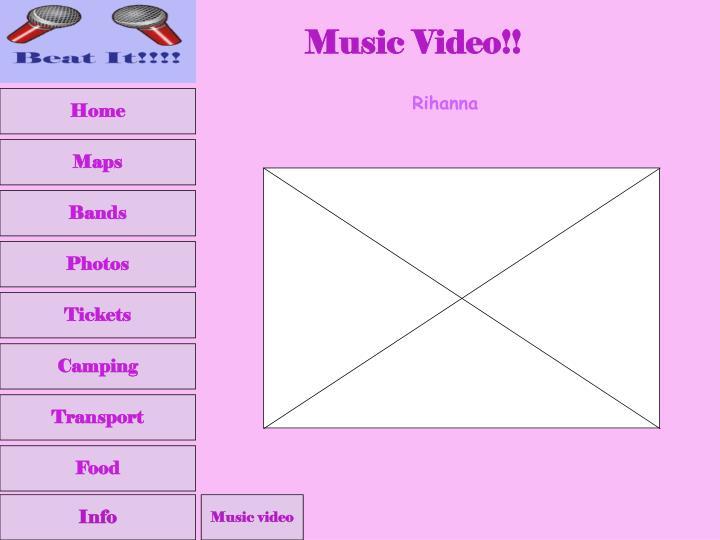 Music Video!!