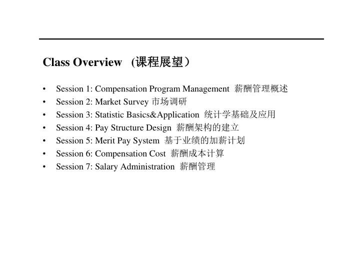 Class Overview   (