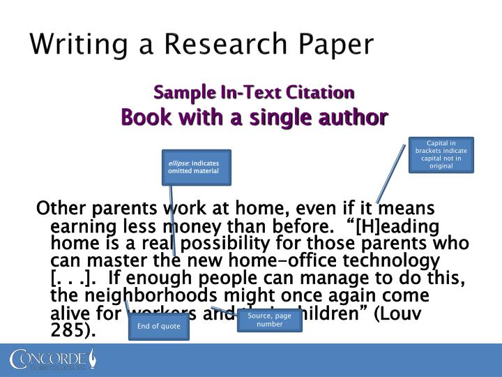Steps In Writing A Research Paper For High School