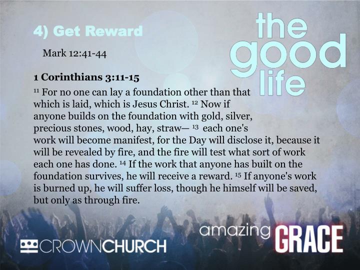 4) Get Reward