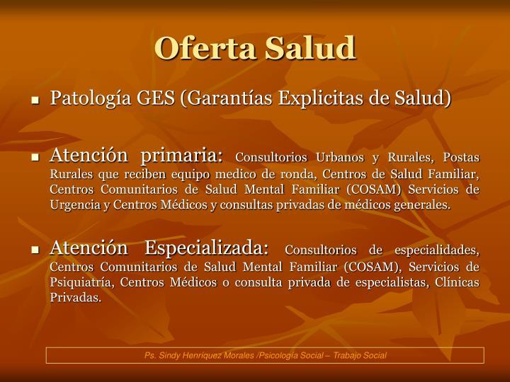 Oferta Salud
