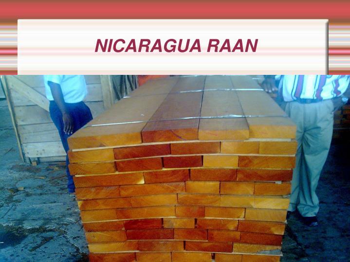 NICARAGUA RAAN