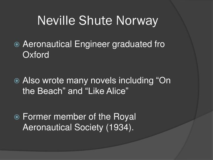 Neville Shute Norway