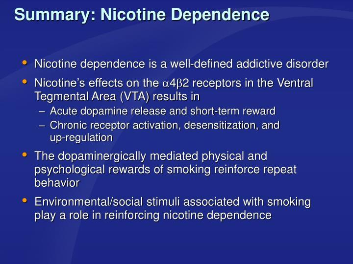 Summary: Nicotine Dependence