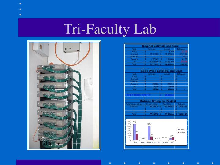 Tri-Faculty Lab