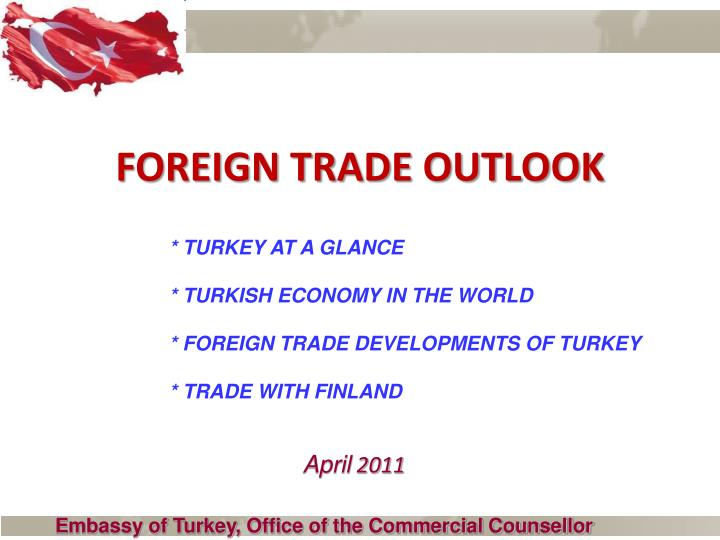 Foreign trade outlook