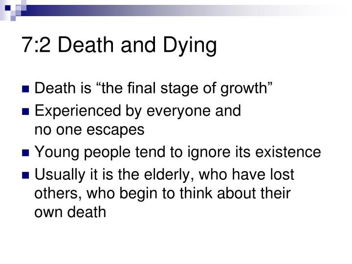7:2 Death and Dying