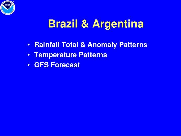Brazil & Argentina