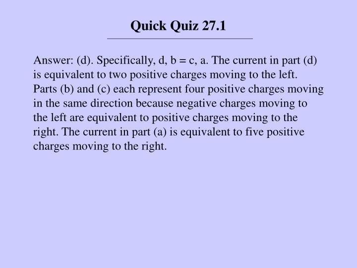 Quick Quiz 27.1