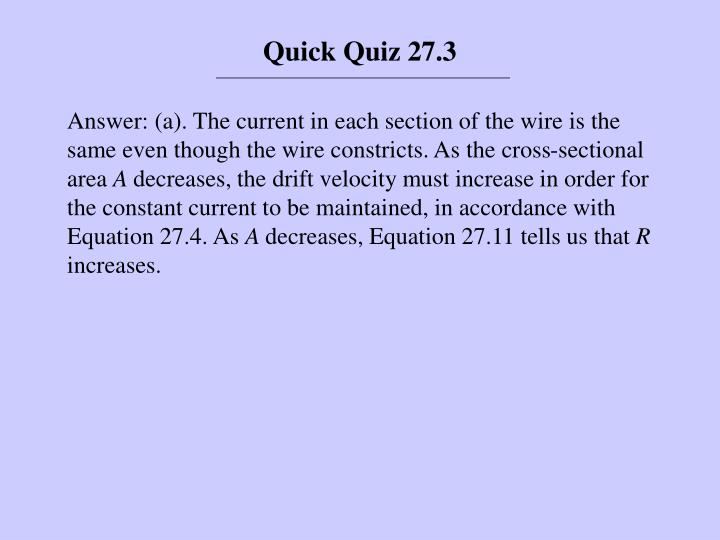 Quick Quiz 27.3