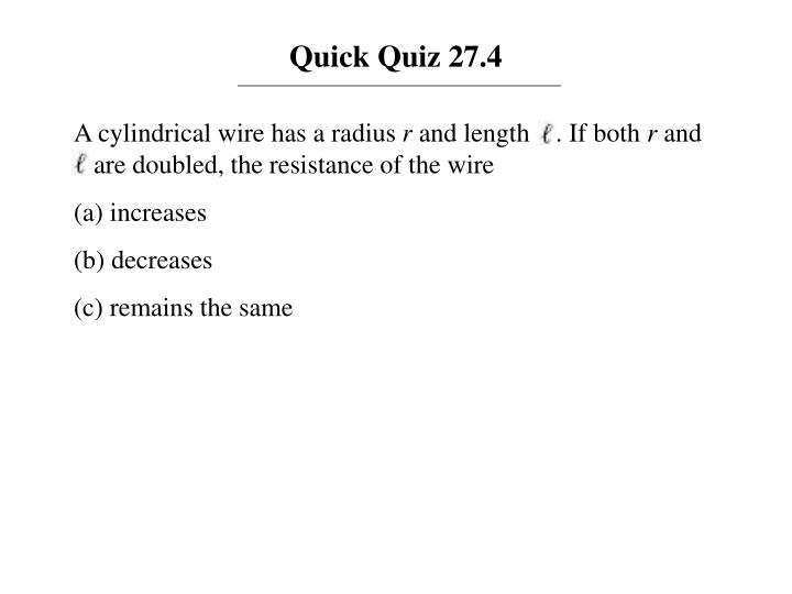 Quick Quiz 27.4