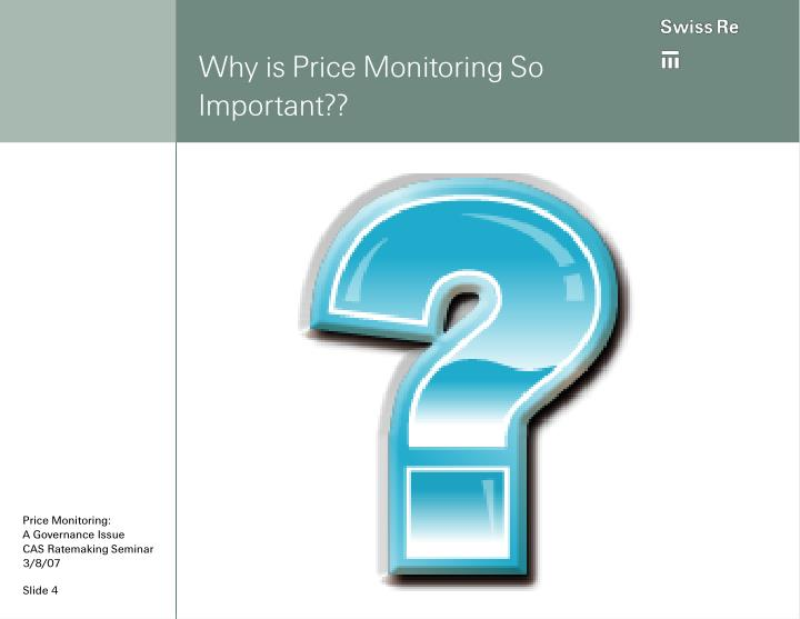 Why is Price Monitoring So Important??