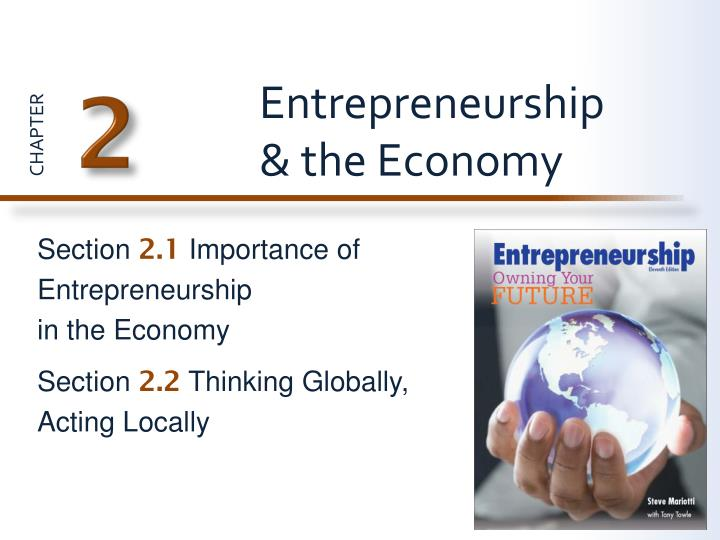 Entrepreneurship the economy