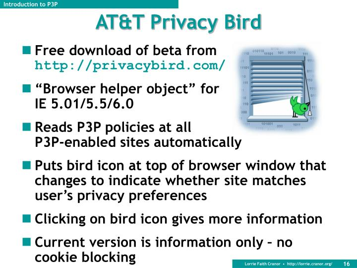 AT&T Privacy Bird