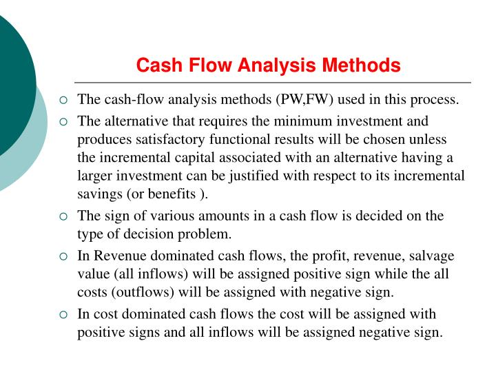 Cash Flow Analysis Methods